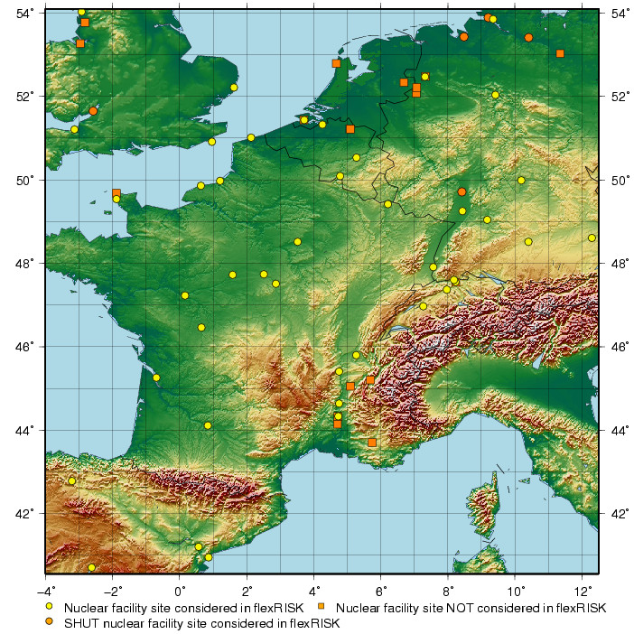 Map of Sites (zoomed) - flexRISK Zoomable Map Of Western Europe on detailed map of europe, google earth map of europe, crete on a map of europe, latest map of europe, the physical map of europe, full screen map of europe, downloadable map of europe, complete map of europe, clear map of europe, line map of europe, war map of europe, need map of europe, study map of europe, printable blank map of europe, ancient old map of europe, high resolution map of europe, london on map of europe, old world map of europe, vintage map of europe, political map of western europe,